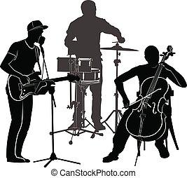 musicians performance