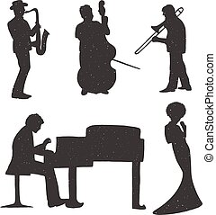 Musicians playing classic music