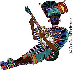 musicien, ethnique