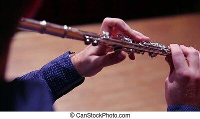 musicien, jeu cannelure, étape