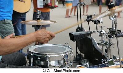 musiciens rue, bulgarie