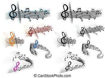 musik, bakgrund