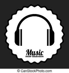 musik, design