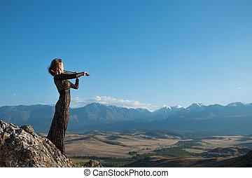 musik, für, ewigkeit