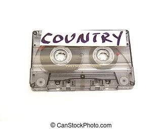 musik, kassett