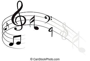 musik notiz