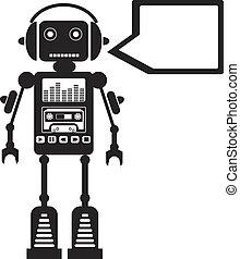 musik, roboter