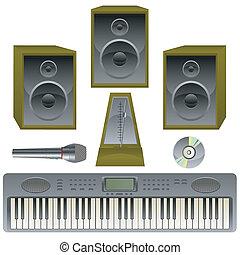 musik, set