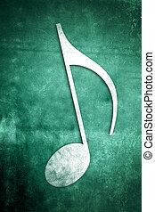 musikalisches, notes:, reihe, 2, von, 3