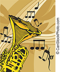 musikalisk, bakgrund