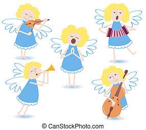 musikalsk begavet, angels.