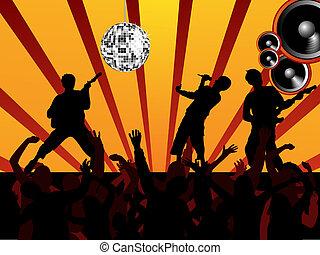 musique, événement
