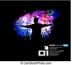 musique, événement, illustration