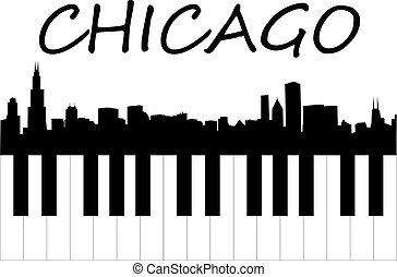 musique, chicago