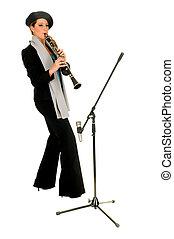 musique, clarinette, interprète
