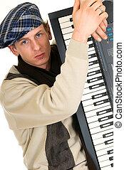 musique, clavier, interprète