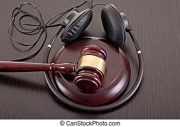 musique, copie, droit, droit & loi