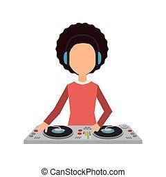 musique, dj, fête
