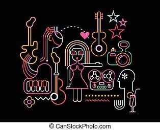 musique, fête