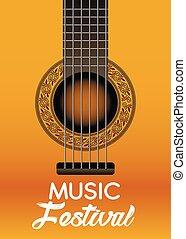 musique, festival, 2, eps, vecteur