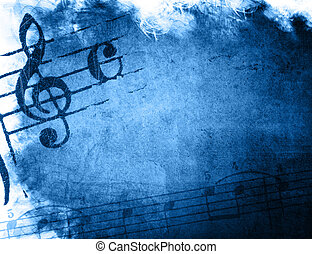 musique, grunge, arrière-plans