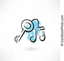 musique, grunge, icône principale