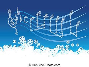 musique, hiver