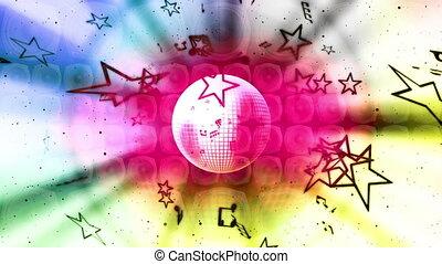 musique, interlocuteurs, fond, boucle
