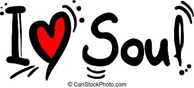 musique, message, amour, âme