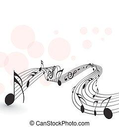 musique note