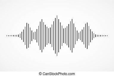 musique sonore, vagues