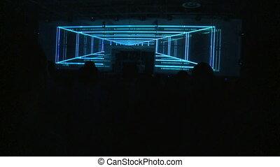 musique, techno, fête