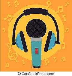 musique, thème, dj, fête