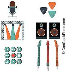 musique, vol, composants, joueurs, 2