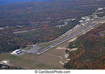 Muskoka Airport aerial