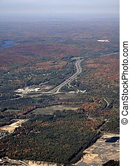 Muskoka Ontario, aerial