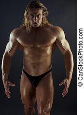 muskularny, człowiek