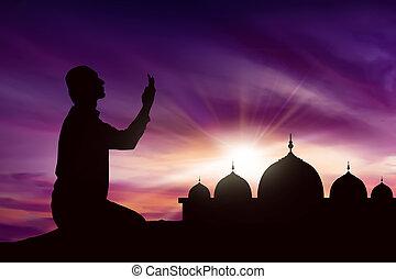 muslim, アジア人, 若者
