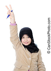muslim, 女生徒