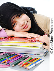 muslim, 幼年時代