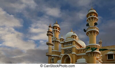 Muslim (Arab) Mosque, Kovalam, India - Muslim (Arab) Mosque...