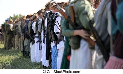 Muslim army