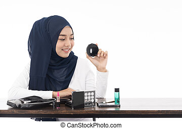 Muslim face beauty cosmetic