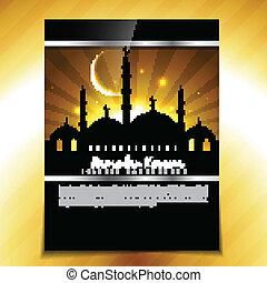 muslim festival design
