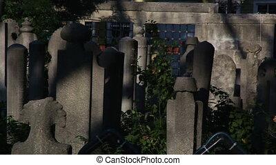 muslim graveyard - ancient Muslim cemetery, shoot Canon 5D...