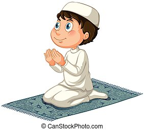 Muslim - Male muslim praying
