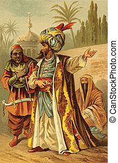 Muslim Man in Turban