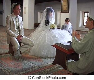 Muslim Marriage in Mosque