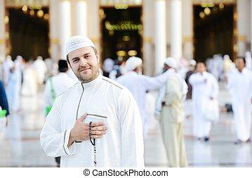 muslim meczet, święty, modlitwa