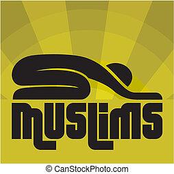 muslim, modlitwa
